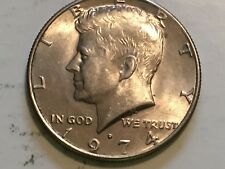 1974 D Kennedy Half Dollar reverse doubling error coin States of America, Dollar