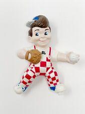 Vintage 1990 Elias Brothers Bob's Big Boy Baseball Pitcher Toy Figure