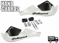 Polisport Integral Evolution Motorcycle Handguards White