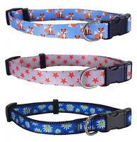 Rosewood Wag N Walk Adjustable Nylon Fashion Dog Collars Leads
