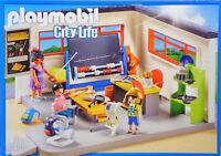 Playmobil 9455 Klassenzimmer Geschichts-Unterricht Lehrerin Tafel Kinder NEU