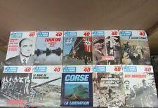 LE JOURNAL DE LA FRANCE les années 40 GUERRE 39/45 : lot de 20 Nos 140 à 159