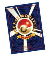 Pokemon TCG Deck Shield First Design OG Character Card Game Sleeve 62pc Japanese