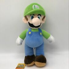 "New Super Mario Bros. 2 Plush Luigi Soft Toy Stuffed Animal Doll Teddy 14""/BIG"