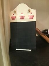 CUPCAKE MEMO CHALK BOARD BRAND NEW UNUSED