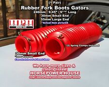 30mm Rubber Fork Boots Gators Gaiters early 80s Kawasaki KZ650H KZ700A LTD ZN700