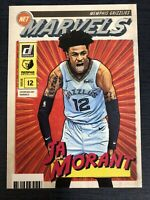 2019-20 Donruss Ja Morant Net Marvels Insert Card #9 Memphis Grizzlies