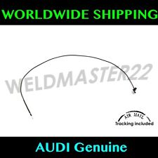 AUDI A4 8E B6 Hood Latch Release Cable Line Lock Genuine New 8E1823531D