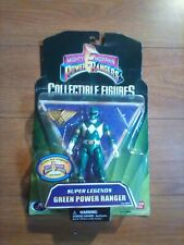 Bandai Mighty Morphin Power Rangers Super Legends Green Power Ranger..Brand new.