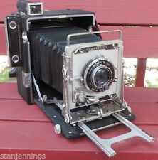 GRAFLEX CROWN GRAPHIC SPECIAL 4X5 PRESS CAMERA WOLLENSAK f4.7 135mm