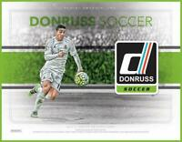 2016-17 Donruss (Panini) Purple Parallel Soccer Trading Cards Pick From List