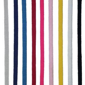"""3/16"""" (5mm) Flat Soft Elastic Ear Loop Sewing Crafts DIY Spandex/Nylon 10yd"""
