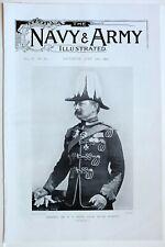 1898 PRINT GENERAL SIR JONES ROYAL MARINES
