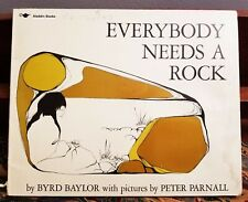 Everybody Needs A Rock PB 1985 Baylor Illustrated Kids 4 to 8
