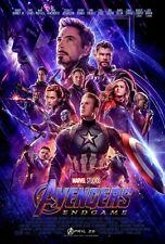 Marvel Avengers Endgame Movie Poster Iron On T-Shirt Transfer A5