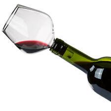 Bouchon de Bouteilles en Forme de Verre à Vin - Fini la buvette au goulot - Neuf