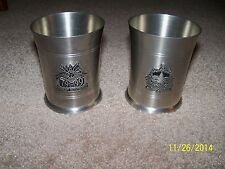 Rare Vermont Crafted Bicentennial Set Crownsons Pewter Cups #'ed Edition