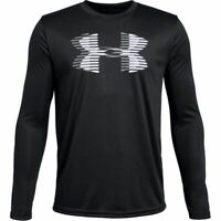 New Under Armour Big Logo Long-Sleeve Shirt Size Small