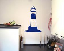 Leuchtturm Büsum Wandtattoo         25 Farben 6 Größen Wandaufkleber Wandsticker