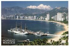 HQ  -  XL Postcard   -  neu / new  -  Acapulco > Strand >  Hafen  >  Mexico