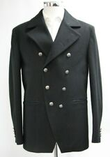 Men's Harry Brown Black Double Breasted Short Coat (M).. Sample 6085