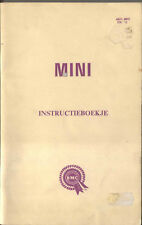 Mini Instructieboekje Handbook 1967 DUTCH