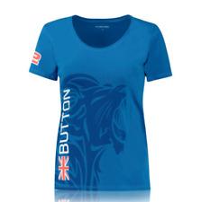 Womens McLaren F1 T Shirt Jenson Button Size M UK 10 Blue WEC Super GT