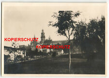 Foto Polen Krakau LKW Auto Transporter 2. WK WW2 Photo 1939 Kirche Stadt