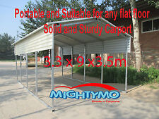 LARGE STEEL Carport, Shelter 3.3 x 9.2M Portable Carport Yard Backyard