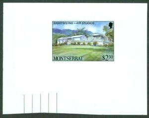 Montserrat 1986 Air Studios $2.30 glossy MASTER PROOF