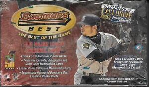 2001 Bowman's Bowmans Best baseball sealed hobby box