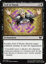 SEAL OF DOOM Commander 2015 MTG Black Enchantment Com