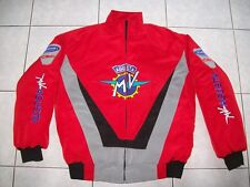 NUOVO MV AGUSTA CRC TOURISMO veloce Giacca Rosso Nero Grigio Haagse Jacket JAS Giacca