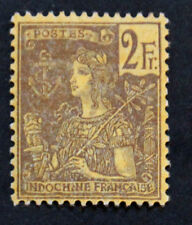 Timbre INDOCHINE / INDOCHINA Stamp - Yvert et Tellier n°38 n* (Col4)