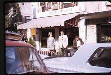 1967 Kodachrome  Photo Slide Nice Dressed Man and Lady Puerto Rico #1 Fashion