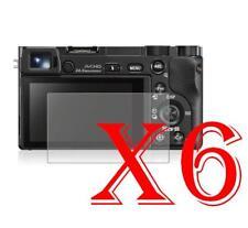 6 PZ PELLICOLA PROTEZIONE DISPLAY Sony Alpha 6000 PELLICOLE PROTEGGI SCHERMO LCD