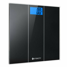 Digital Body Weight Bathroom Scale Backlit LCD + Measuring Tape 400lbs New