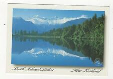 Lake Matheson Westland 2001 Postcard New Zealand 525a