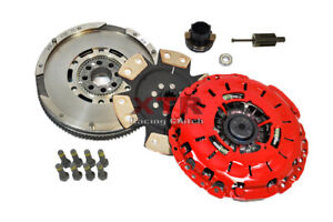 XTR STAGE 4 CLUTCH KIT+LUK DMF FLYWHEEL FOR 99-00 BMW 328i 328ci E46 528i E39 Z3
