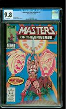 Masters of the Universe 1 CGC 9.8 NM/MINT He-Man Skeletor Marvel 1986