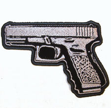 45 MAGNUM PISTOL PATCH P5800 hat jacket patches gun novelty iron on heat sewon