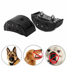 Dog Shock Training Collar Remote Control Rechargeable No Shock Electric Colla R