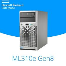 "HP ML310e G8 v2 Quiet Tower Server, Xeon Quad Core 3.1GHz, 16GB, P822, 4x 3.5"""