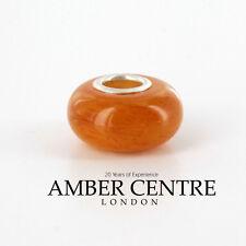 Amber Trolls fits all charm bracelets German Baltic Amber 925 Ag CHA29 RRP£60!!