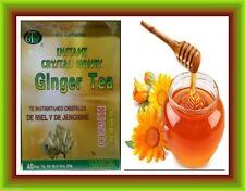 Instant Crystal Honey Ginger Tea, 40 bags- No Caffeine-De Meil Y DE Jengibre