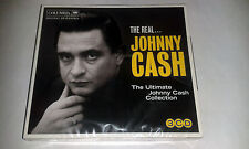 JOHNNY CASH: THE REAL JOHNNY CASH: THE ULTIMATE COLLECTION 3CD SET NEW/SEALED