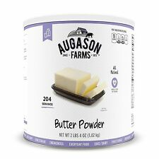 Augason Farms Butter Powder #10 Can Prepper Doomsday Food Storage Survival EMP