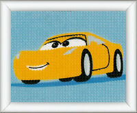 1x Long Stitch Kit Disney Cars - Cruz Sewing Craft Tool Hobby Art UK 7587