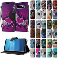 For Samsung Galaxy S10 6.1 inch Flip PU Leather Card Slot Wallet Case Cover