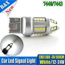 1x 7440 7443 T20 30 CREE LED Dual Car Contact Light Tail Brake Lamp Bulb 12-24V